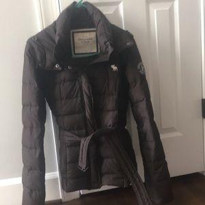 Abercrombie winter puff coat